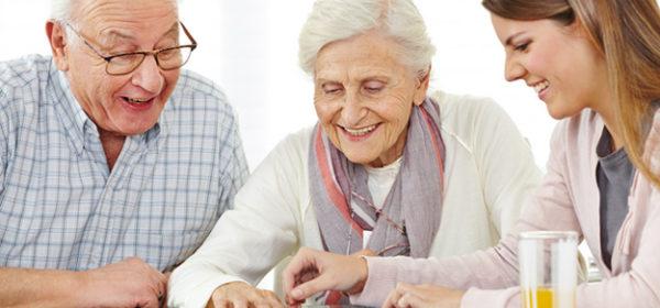 Wenn Eheleute gemeinsam in einem Altenheim untergebracht sind